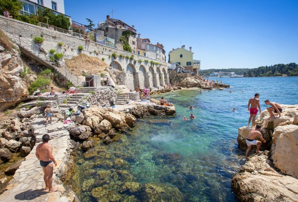 Istrien Küste