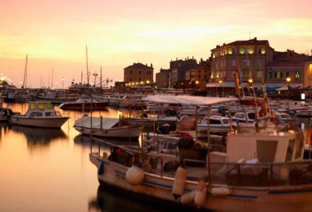 Eine Stadt in Istrien